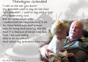 THANK YOU GRANDAD