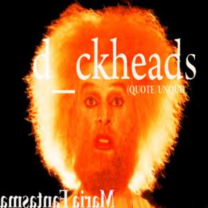 dickheads (quote/unquote) cover art