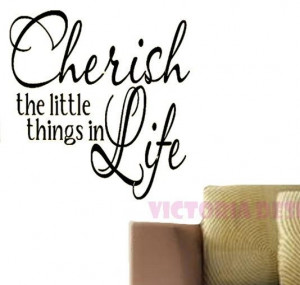 Cherish the little things in lifeDesign on a by victorialogodesign, $ ...
