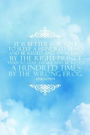 cute, fairytale, frog, love, prince, quotes