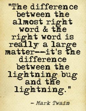Mark Twain #quote. #writing #writers Crossword Puzzles, Mark Twain ...