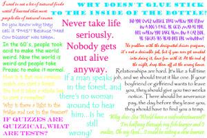 Funny Sayings - Sayings about Life, Life Sayings, Life Quotes