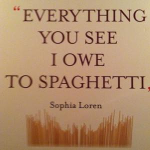 Love this quote from Sophia Loren