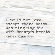Edgar #Allan #Poe #quote More