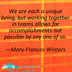 inspirational quotes for working as a team inspirational quotes for ...