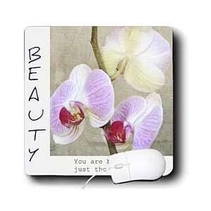 Inspirational Photography Flowers Motivational Quotes Mouse Pads