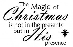 Remember the true meaning of Christmas with this quote on your wall or ...