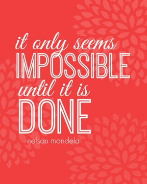 ... well try the impossible! | Feel Great in 8 #inspiration #quote #truth
