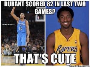Kobe Bryant vs. Kevin Durant!