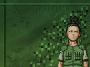 Shikamaru Standing Seriously