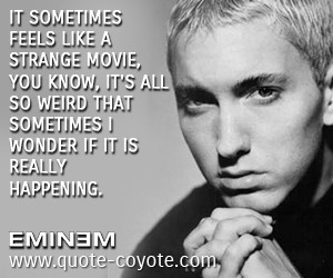 Eminem Quotes About Haters...