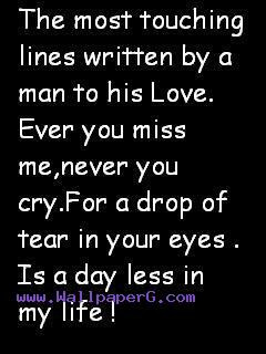 Download The most touching lines - Love and hurt quotes