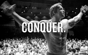 Conquer Arnold Wallpaper 1601x1004 Conquer, Arnold, Schwarzenegger ...
