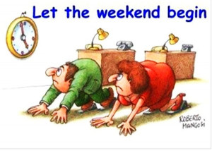Check out this Funny Weekend photo and share among your office ...