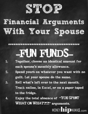 How To Stop Financial Arguments With Your Spouse