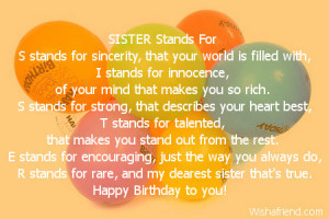 ... becoz u live so happy birthday to the two special birthday gift for