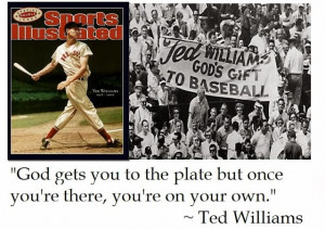 Ted Williams Baseball Quotes