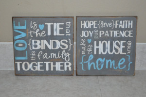 Wooden Signs = Easy Art!