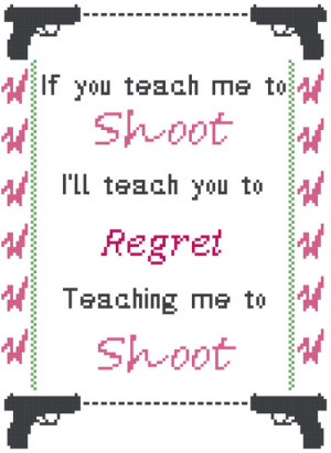 Cross Stitch Pattern: Bob's Burgers- Louise Belcher Quote