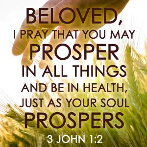 Prayer for Financial Needs