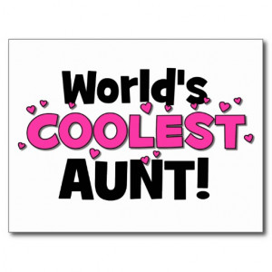 Have The Best Aunt World