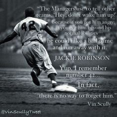 ... baseball baseball quotes vin scully quotes amazing quotes jackie