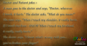funny doctor doctor jokes