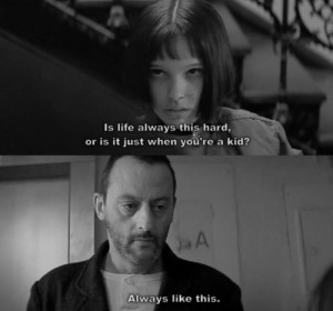 leon the professional movie quotes - Google Search