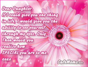 Dear Daughter Facebook Graphic