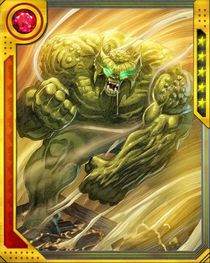 hulk bane abomination+ information rarity super special rare power ...