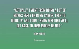 Dean Norris Quotes