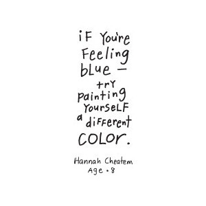 Different Color quote #2