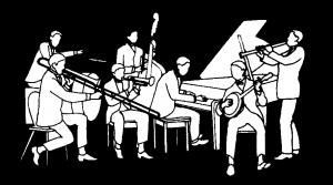 Jazz Band Clip Art 224