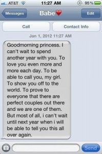 40 Cute Things to Text Your Boyfriend | herinterest.com More
