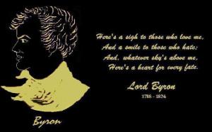 George Gordon, Lord Byron