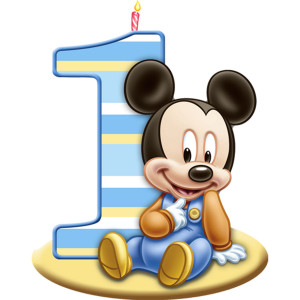 ... birthday mickey mouse first birthday candle part number pe 1fvt1414