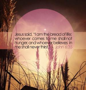 Jesus said!!
