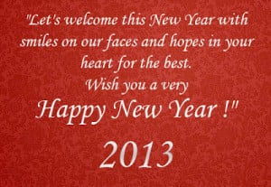 New Year Quotes And Sayings English | New Year Wishes