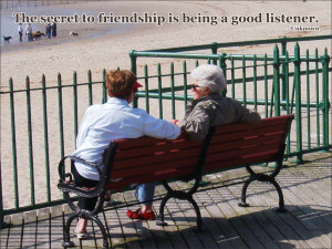 Being A Good Friend Quotes Friendship is being a good