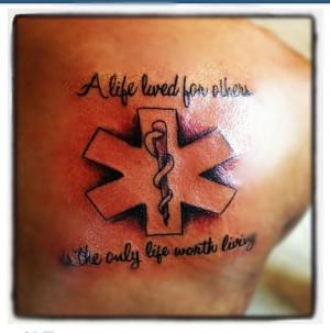 dems star of life http wwwpic2flycom ems tattooshtml