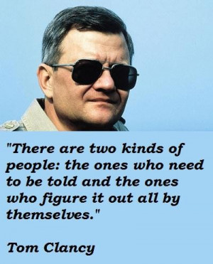 Tom clancy famous quotes 2
