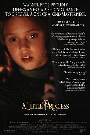message a little princess 1995 a little princess