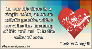 Color Inspirational Life Quotes