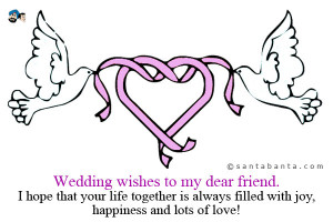 Check out other gallery of Wedding Day Quotes For Friends