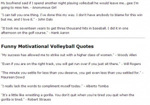 volley funny stuff volleyball quote funny