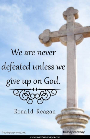 ronald reagan inspirational quotes