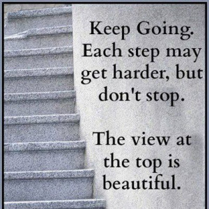 Dont Stop Keep Going!