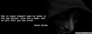 Oscar Wilde Quote - Facebook Titelbild by rockIT-RH