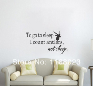 quote wall art wall stickers quotes for hunting wall decal hunting ...