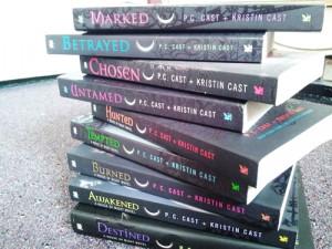 Liste der House of Night-Bücher
